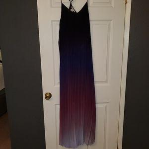 Bar III purple ombre dress